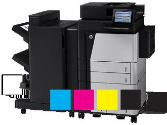 Ir a la sección impresoras HP Color